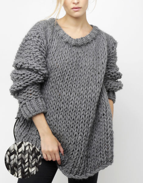 Wonderwool sweater csw tv static