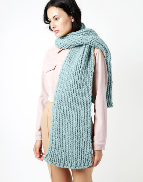 Maxi whistler scarf csw duck egg blue
