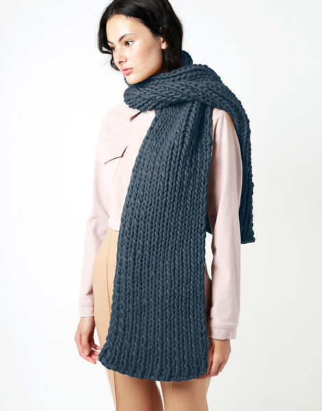 Maxi whistler scarf csw eagle grey