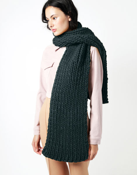 Maxi whistler scarf csw forest green