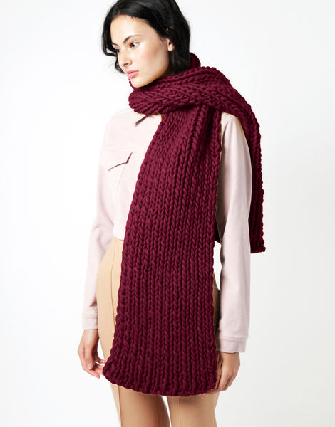 Maxi whistler scarf csw margaux red