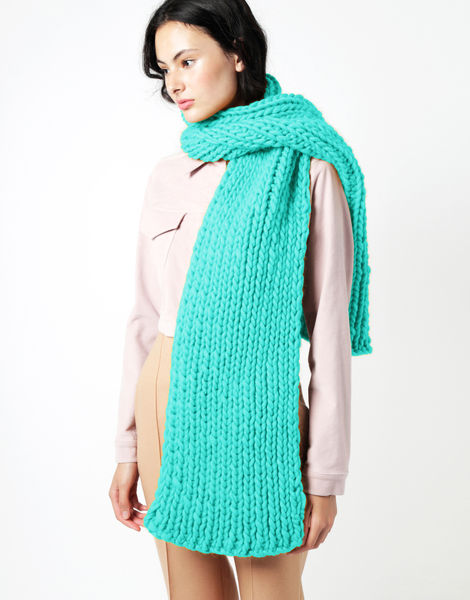Maxi whistler scarf csw magic mint