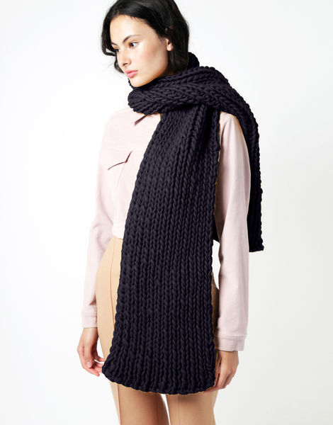 Maxi whistler scarf csw midnight blue