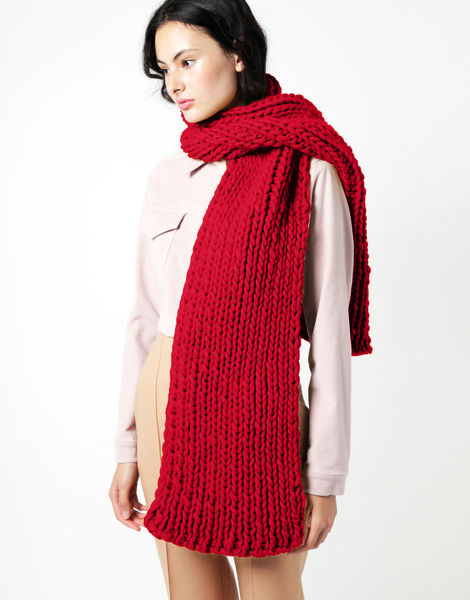 Maxi whistler scarf csw true blood red