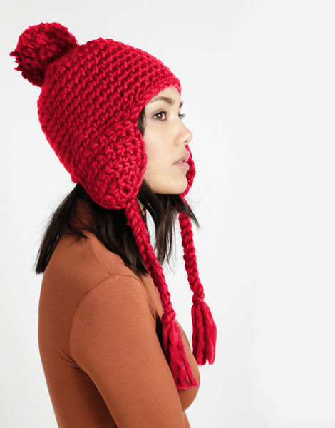 Rhythm nation hat csw candy red