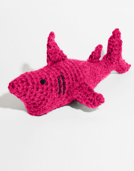 Moe the shark csw hot punk pink