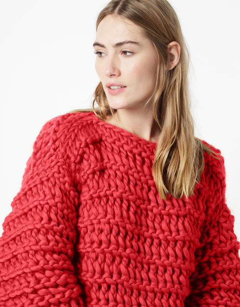 Get around jumper csw candy red