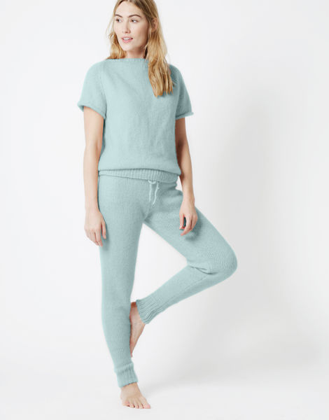 Soul power pants fgy duck egg blue