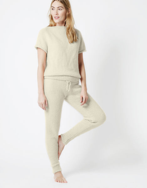 Soul power pants fgy ivory white