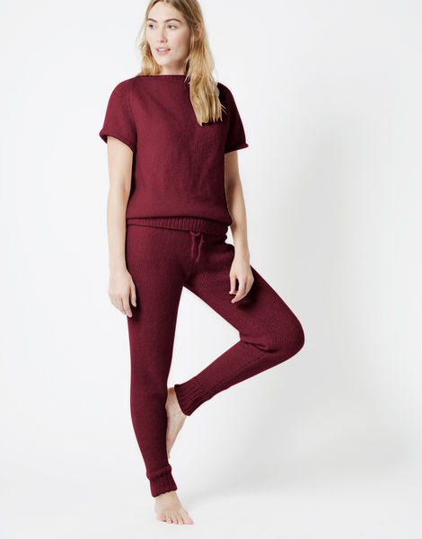 Soul power pants fgy margaux red