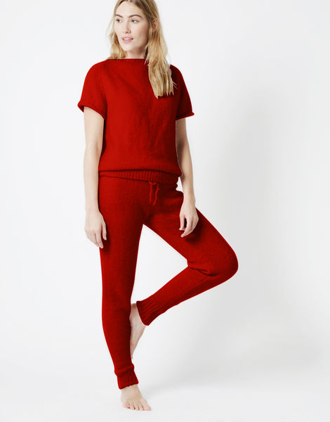 Soul power pants fgy red ochre