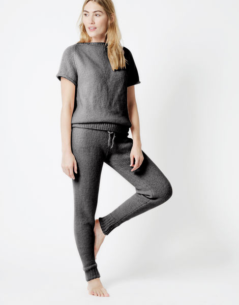 Soul power pants fgy silver fox grey