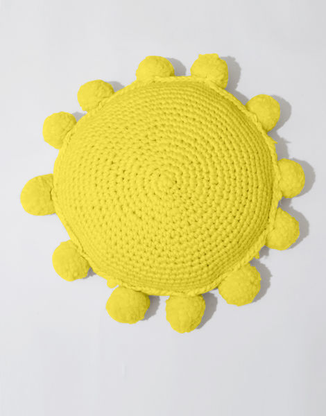 Circle game cushion csw big bird yellow