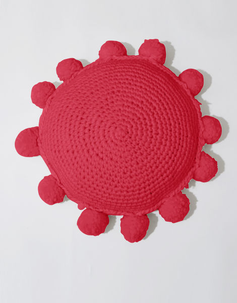 Circle game cushion csw candy red