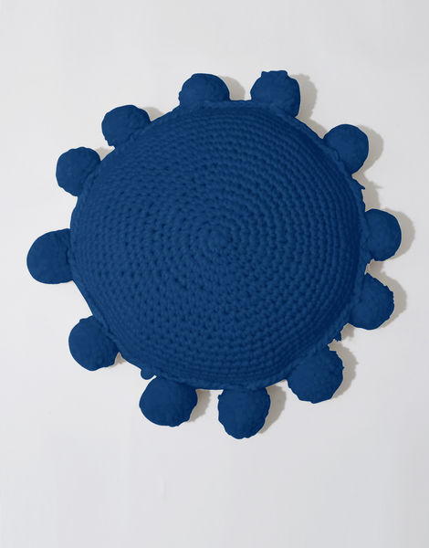 Circle game cushion csw curasao blue