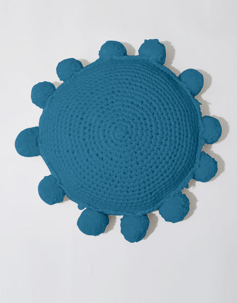 Circle game cushion csw green lagoon