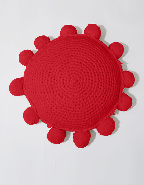 Circle game cushion csw lipstick red