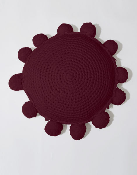 Circle game cushion csw margaux red