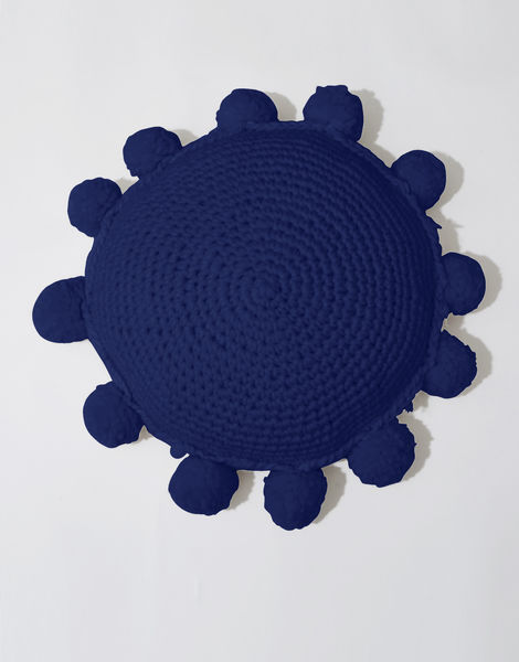 Circle game cushion csw zoot suit blue