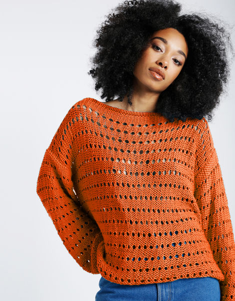Cosmic sweater shc bazaar orange