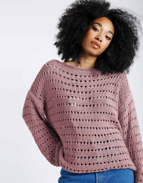Cosmic sweater shc mellow mauve