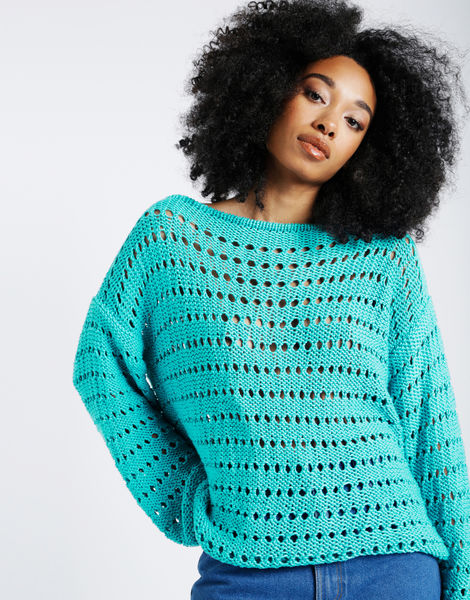 Cosmic sweater shc magic mint