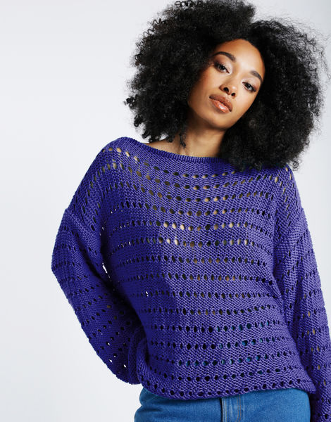 Cosmic sweater shc ultra violet