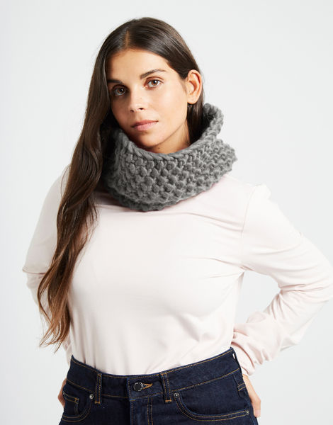 Snood dogg csw tweed grey