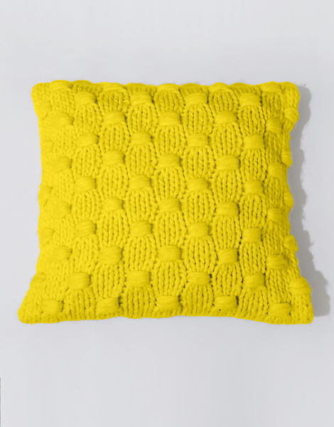 Impossible dream cushion csw big bird yellow