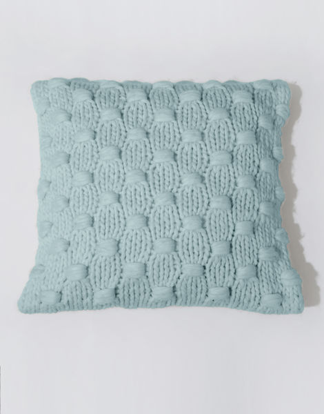 Impossible dream cushion csw duck egg blue