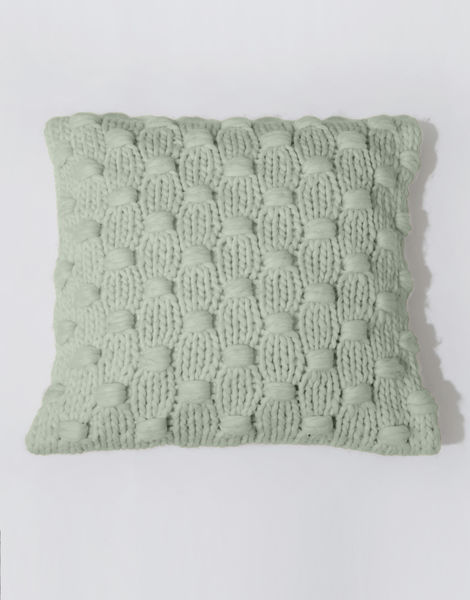 Impossible dream cushion csw eucalyptus green