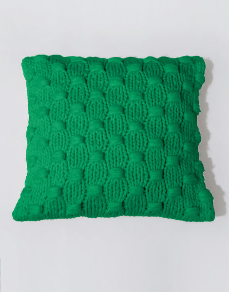 Impossible dream cushion csw emerald green