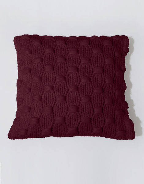 Impossible dream cushion csw margaux red