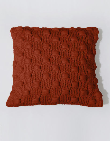 Impossible dream cushion csw red ochre