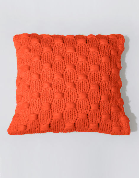 Impossible dream cushion csw rusty orange