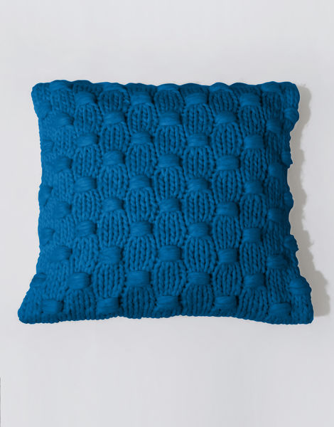 Impossible dream cushion csw sherpa blue
