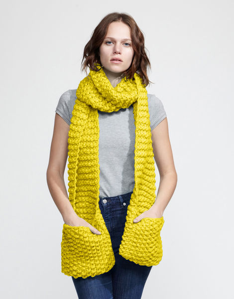 Jolly pocket scarf csw big bird yellow