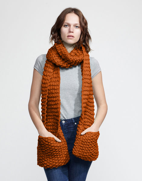 Jolly pocket scarf csw cinnamon dust