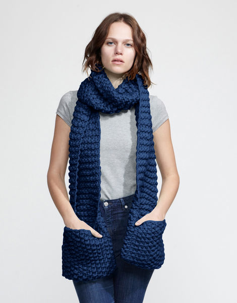 Jolly pocket scarf csw curasao blue%29