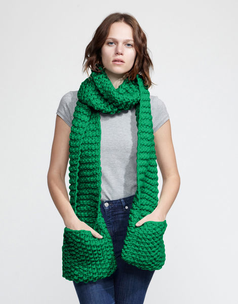 Jolly pocket scarf csw emerald green