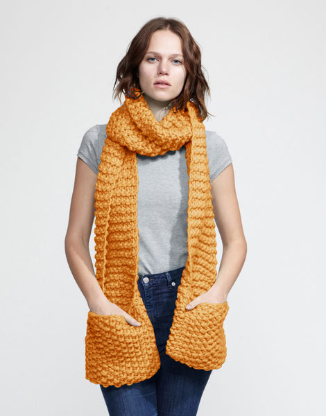 Jolly pocket scarf csw fireball orange