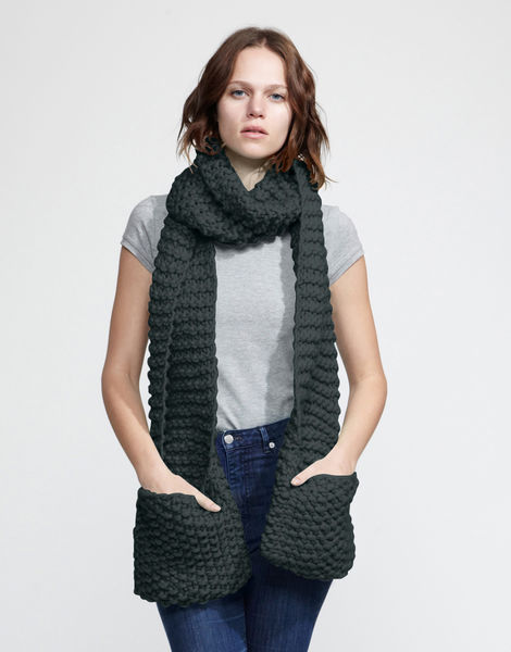 Jolly pocket scarf csw forest green