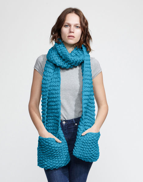 Jolly pocket scarf csw green lagoon