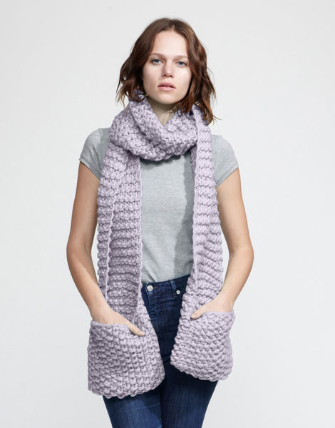 Jolly pocket scarf csw lilac powder