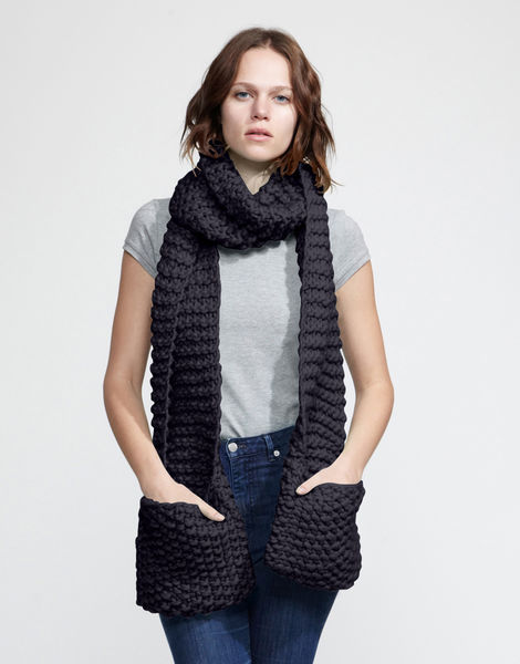 Jolly pocket scarf csw midnight blue