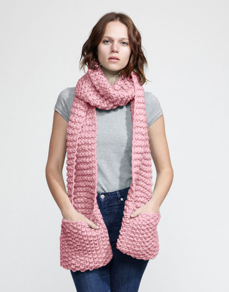 Jolly pocket scarf csw pink lemonade