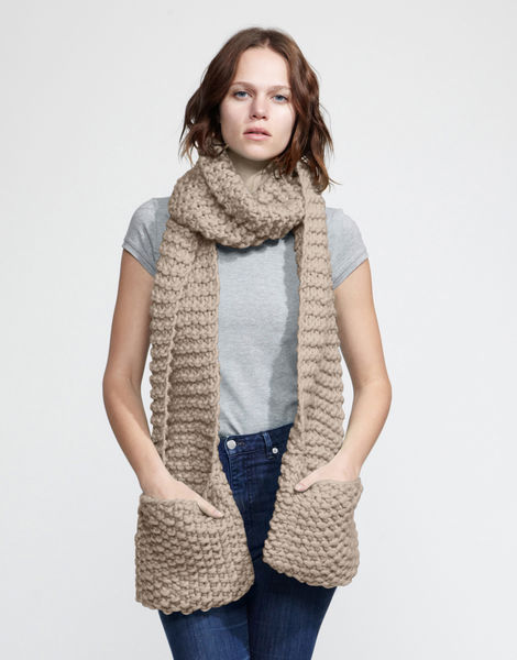 Jolly pocket scarf csw sandtrooper beige
