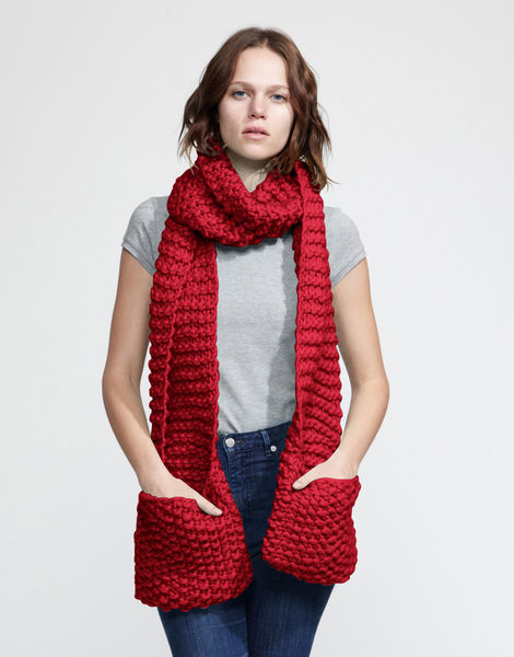 Jolly pocket scarf csw true blood red
