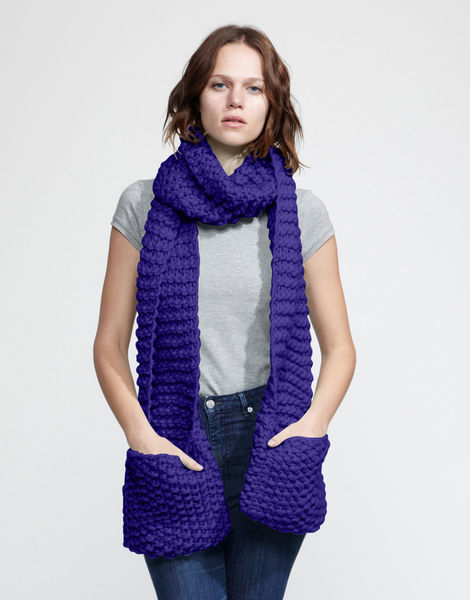Jolly pocket scarf csw ultra violet