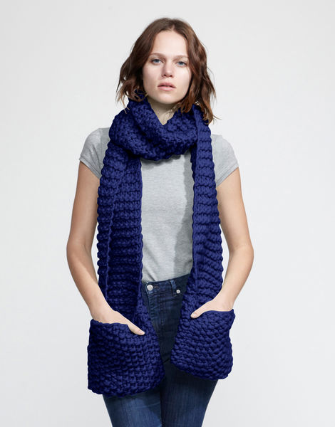 Jolly pocket scarf csw zoot suit blue